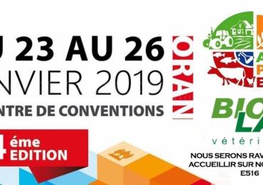 AGRIPRO EXPO Du 23 au 26 Janvier 2019