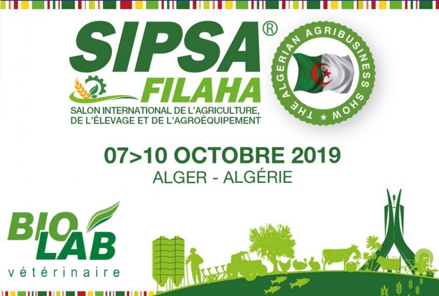 BIOLAB Vétérinaire sera présent au SIPSA SIMA 2019 du 07 au 10 Octobre.